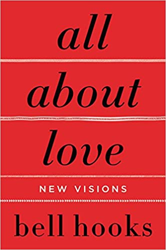 Red book cover, bell hooks All About Love